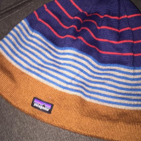 5e8e71e22ca Boys Patagonia beanie hat